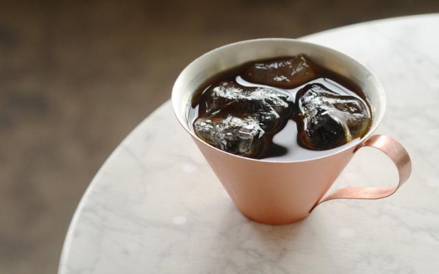 日本いいもの屋 R&W 銅製のコーヒーカップ