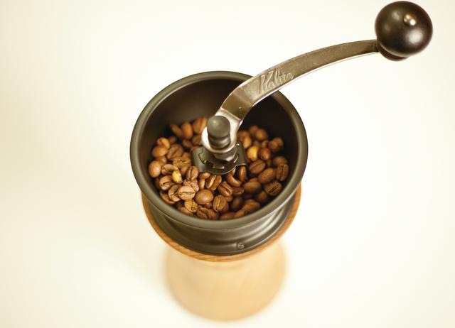 コーヒーミル モクネジとカリタ